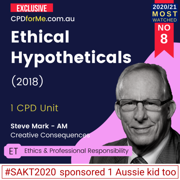 Ethical Hypotheticals (2018)
