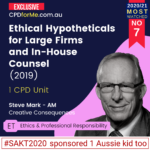 Ethical Hypotheticals for Large Firms _ In-House Counse (2019)