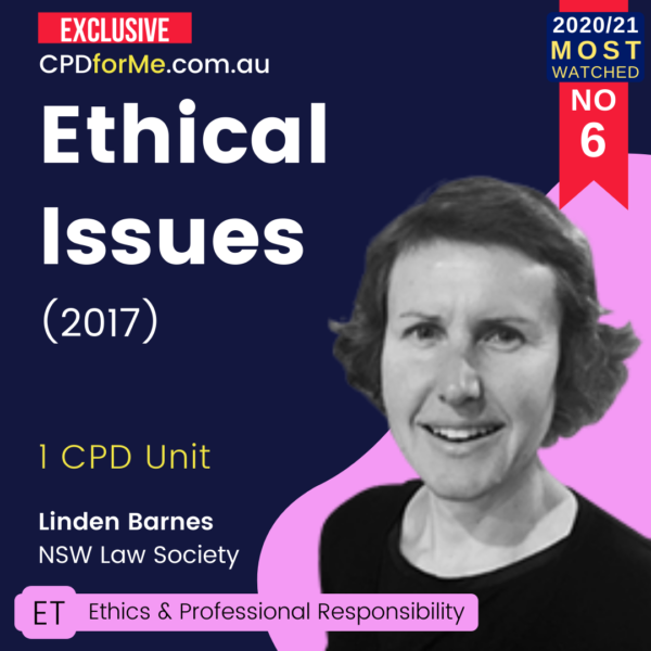 Ethical Issues (2017)