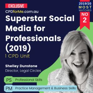Superstar Social Media for Professionals (2019)