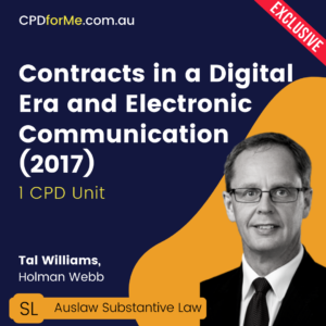 Contracts in a Digital Era and Electronic Communication