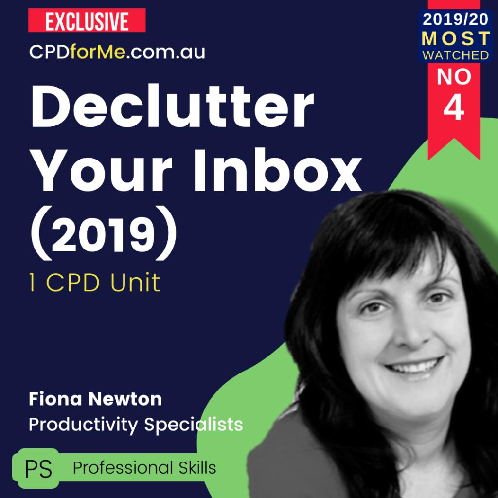 Declutter Your Inbox (2019) Online CPD