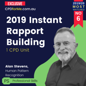 Instant Rapport Building in 2019