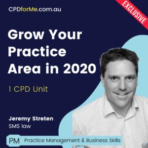 Grow Your Practice Area in 2020