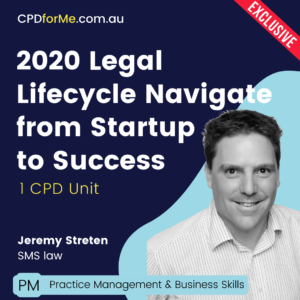 2020 Legal Lifecycle Navigate from Startup to Success