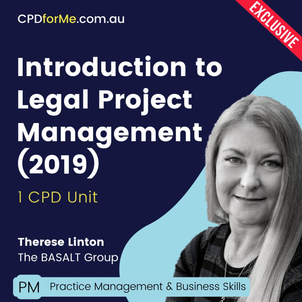 Legal Project Management Fundamentals On-Demand