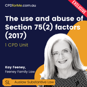 The Use and Abuse of Section 75(2) Factors