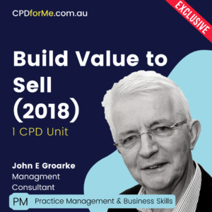 Build Value to Sell