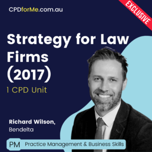 Strategy for Law Firms