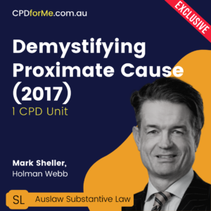 Demystifying Proximate Cause