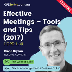 Effective Meetings – Tools and Tips