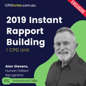 Instant Rapport Building