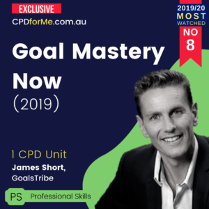 Goal Mastery Now (2019) 1 CPD Unit