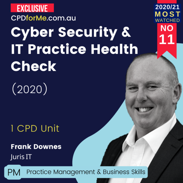 Cyber Security _ IT Practice Health Check (2020)