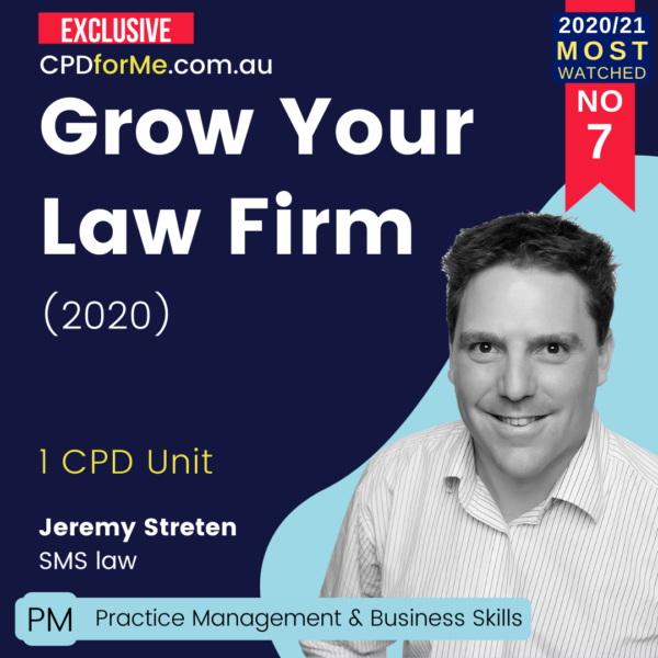 Grow Your Law Firm (2020)