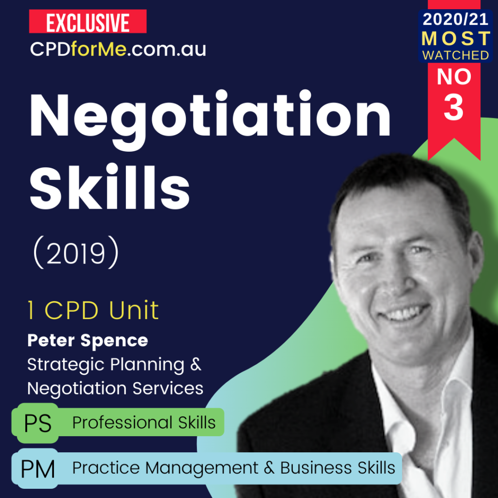 Negotiation Skills (2019)