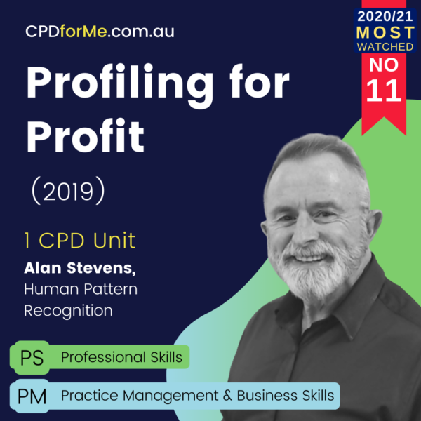Profiling for Profit (2019)