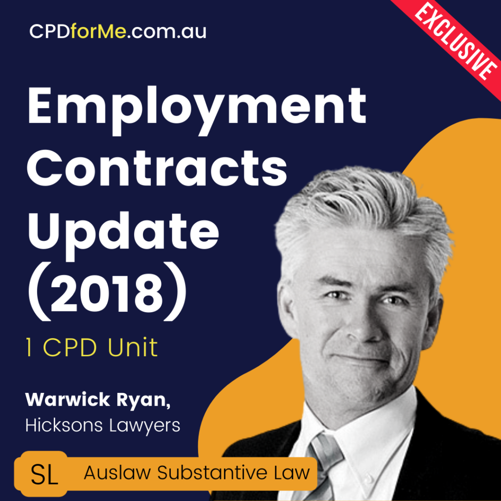 Employment Contracts Update