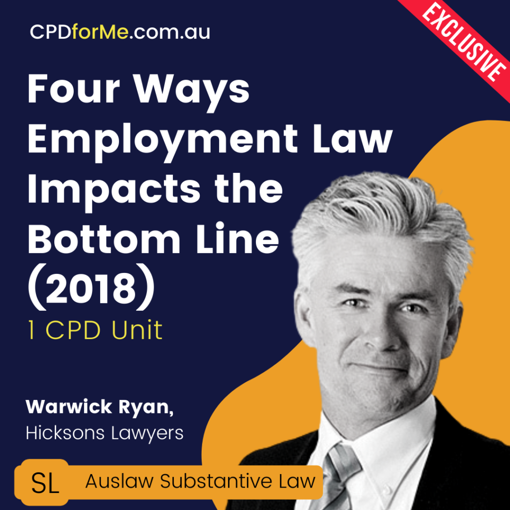 Four Ways Employment Law Impacts the Bottom Line