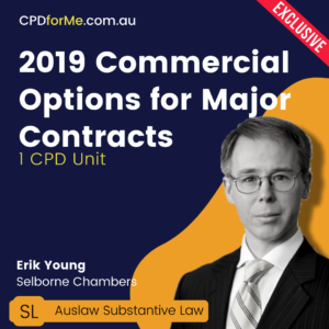 2019 Commercial Options for Major Contracts