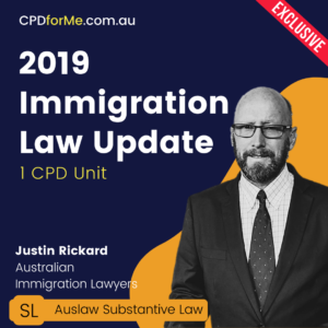 2019 Immigration Law Update