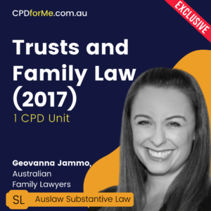 Trusts and Family Law