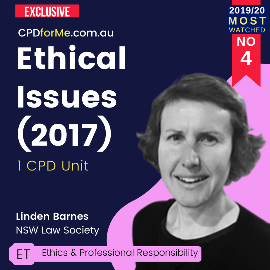 Lawyer Ethical Issues