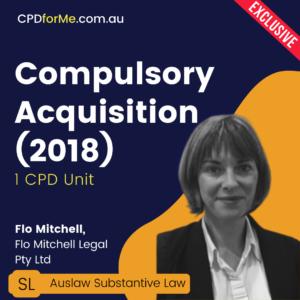 Compulsory Acquisition