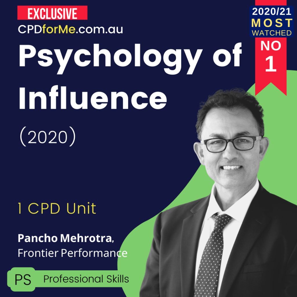 Psychology of Influence (2020)