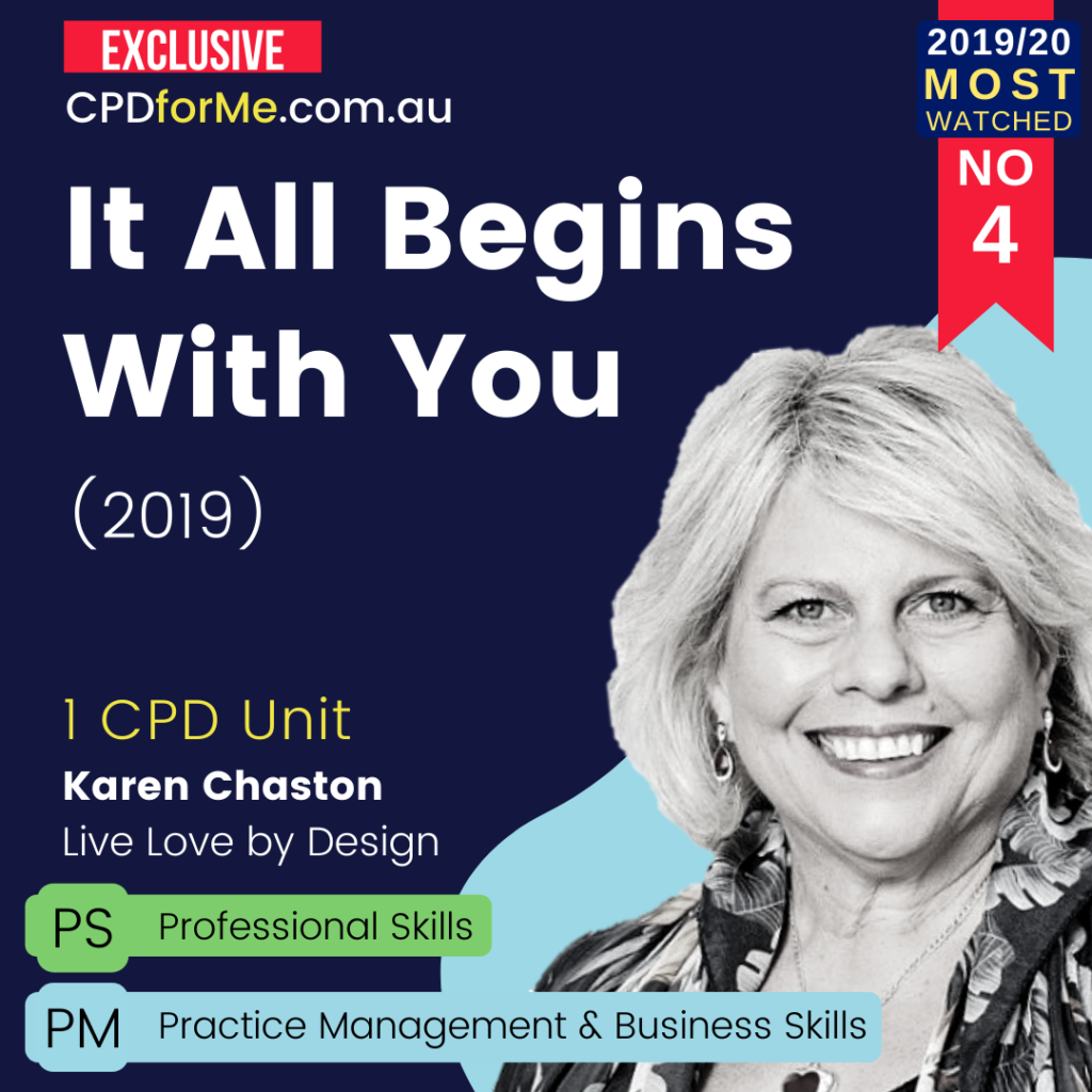 It All Begins With You (2019) Online CPD