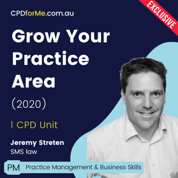 Grow Your Practice Area Online CPD