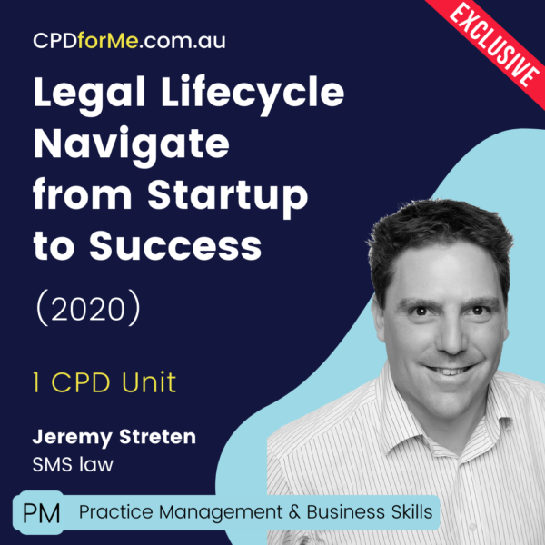 Legal Lifestyle Navigating from Startup to Success Online CPD