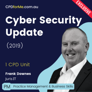 Juris IT Cyber Security Update (2019) Online CPD