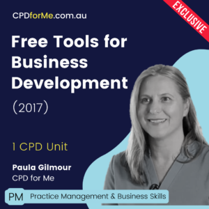 Free Tools for Business Development (2017) Online CPD