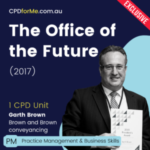 The Office of the Future (2017) Online CPD