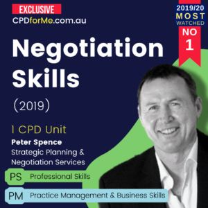 Negotiation Skills (2019) Online CPD