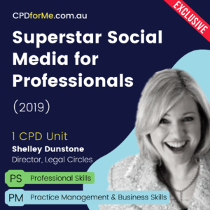 Social Media for Professionals (2019) Online CPD