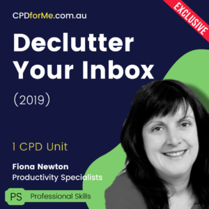 Declutter Your Inbox (2019) Online CPD