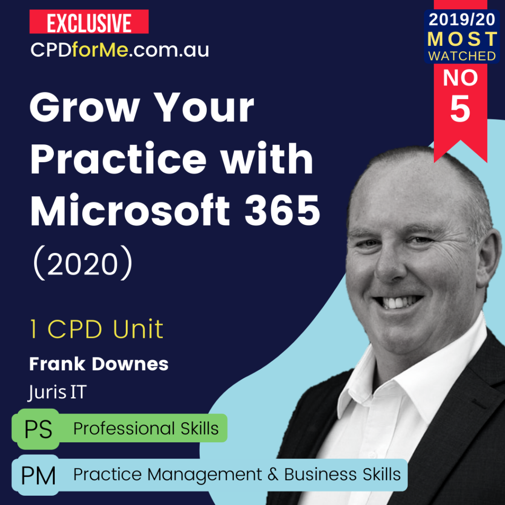Grow Your Practice with Microsoft 365 Online CPD
