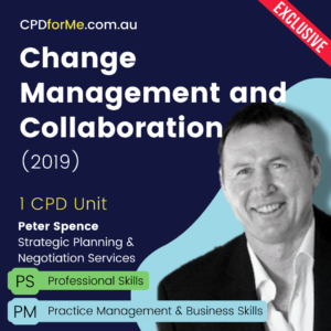 Change Management and Collaboration (2019) | Online CPD