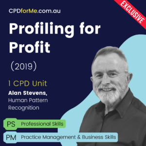 Profiling for Profit (2019) Online CPD