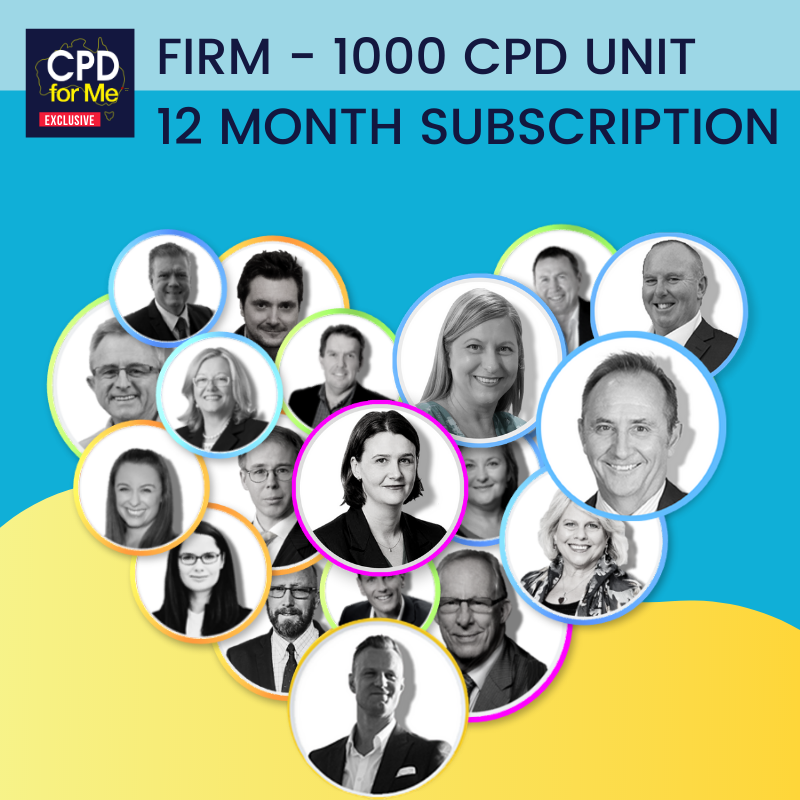 Firm 1000 unit cpd package