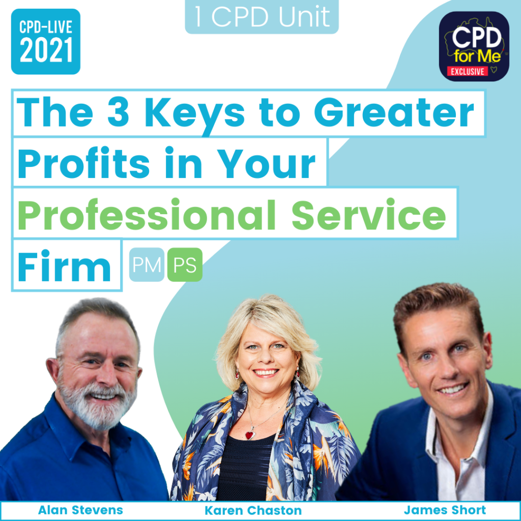 The 3 Keys to Greater Profits in Your Professional Services Firm (2021)