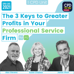 The 3 Keys to Greater Profits in Your Professional Service Firm Webinar Image