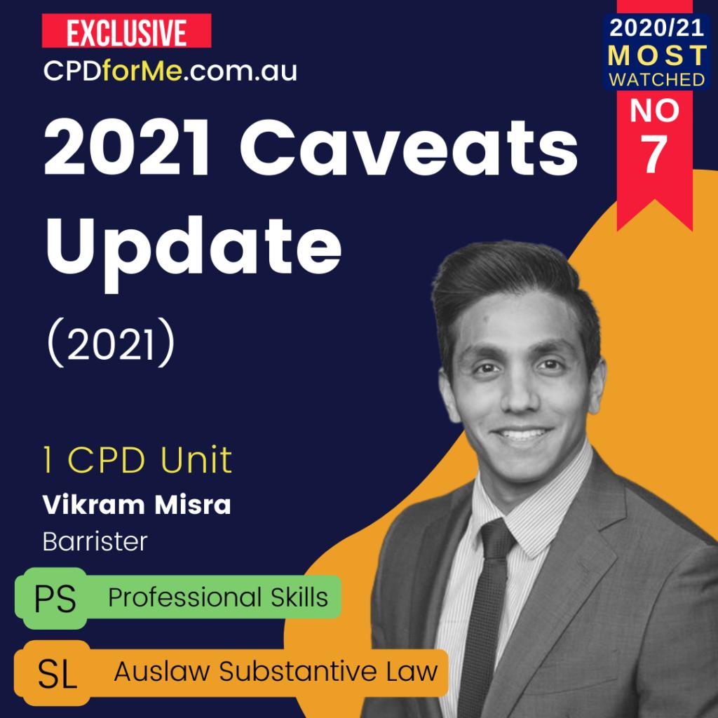2021 Caveats Update (2021)