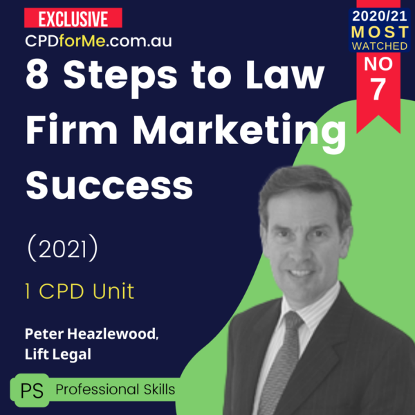 8 Steps to Law Firm Marketing Success (2021)