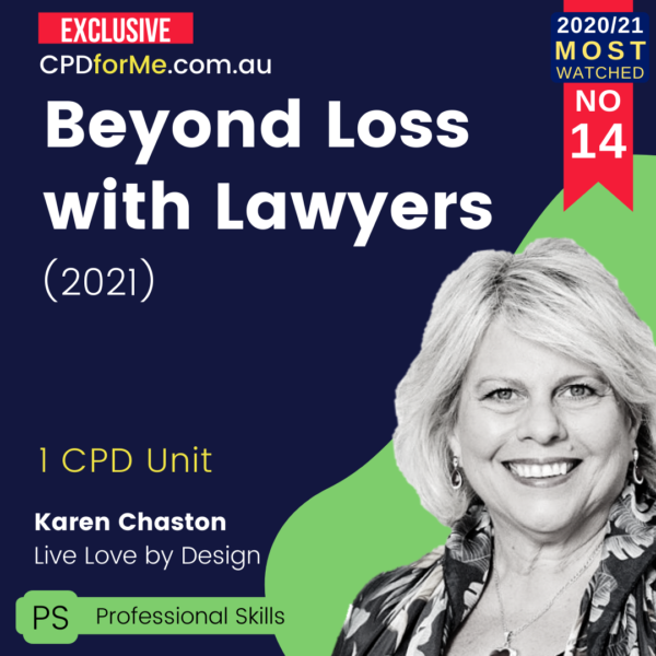 Beyond Loss with Lawyers (2021)