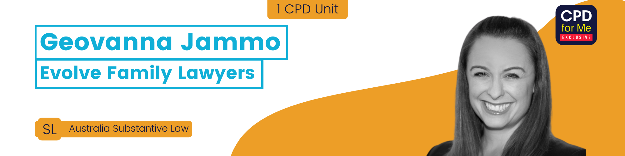 CPD-LIVE Event Page Banner - Geovanna Jammo