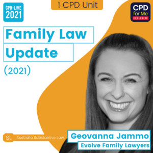 Family Law Update (2021)