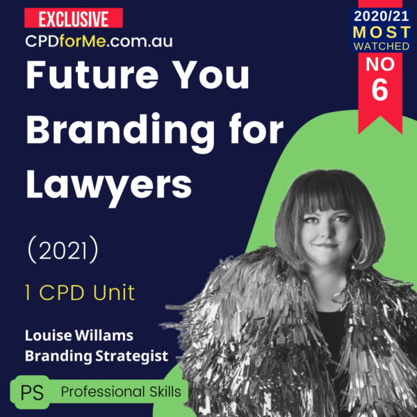 Future You Branding for Lawyers (2021)